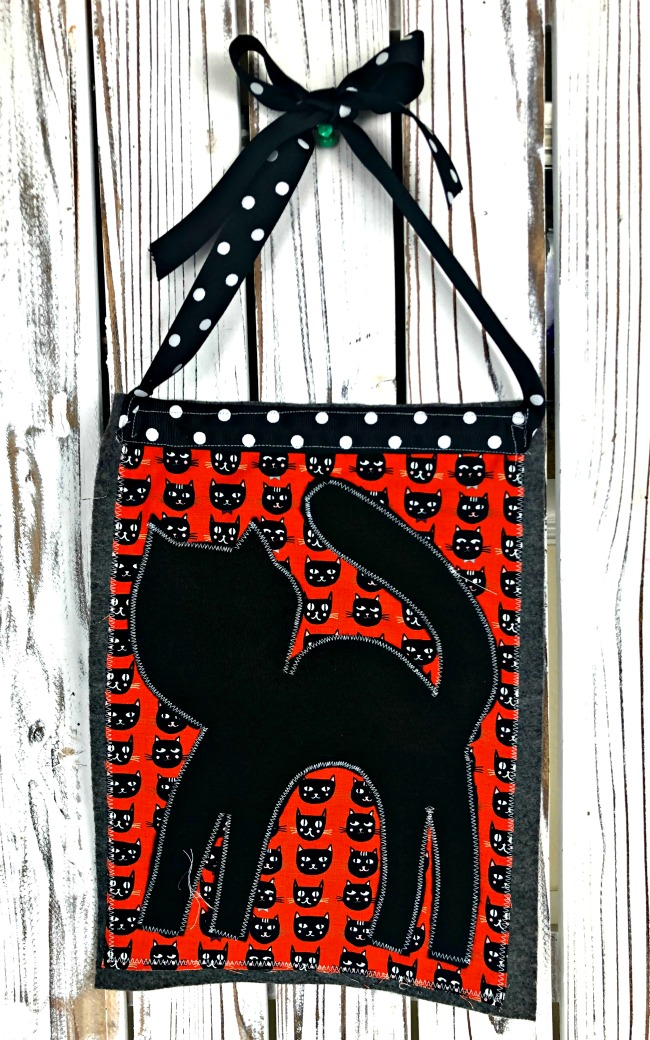 Black Cat Free Pattern Banner