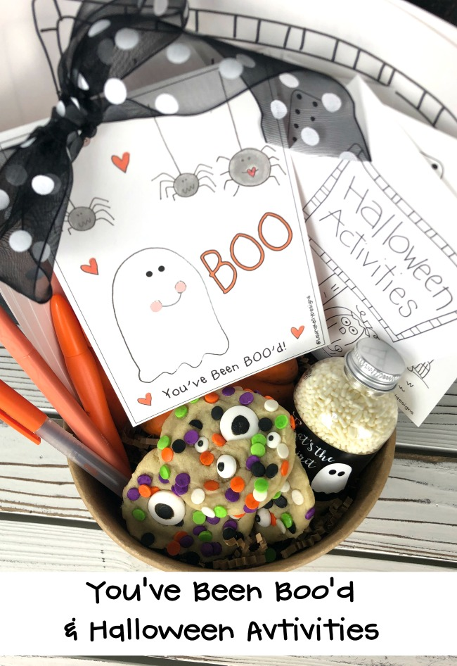 Boo Printable and FREE Printable Halloween Activities