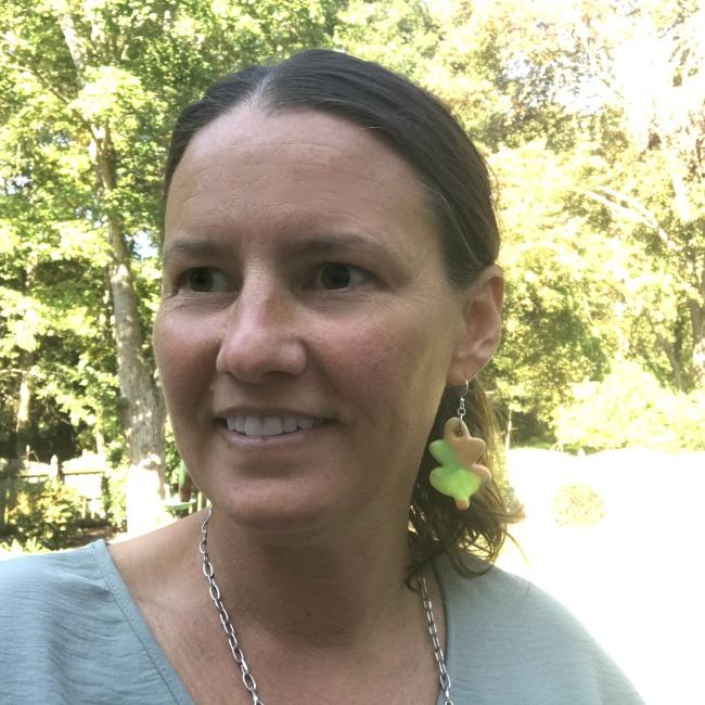 DIY Clay Leaves Earrings
