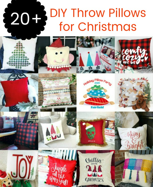 DIY Throw Pillow Ideas for Christmas