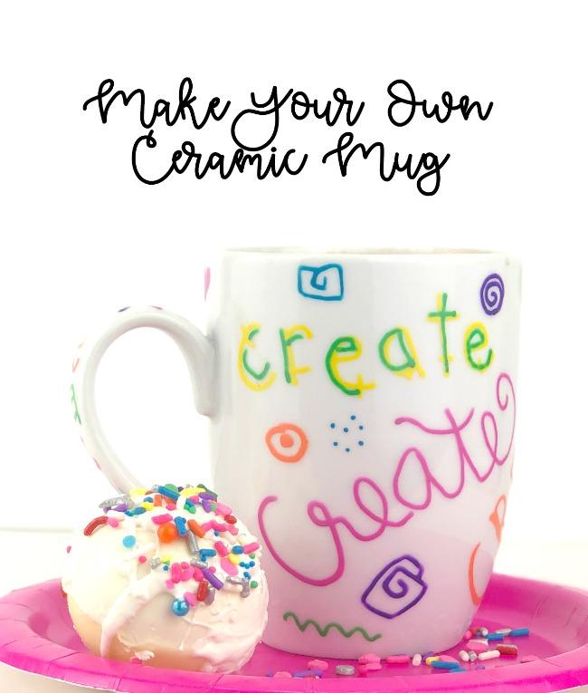 Make a Decorated Ceramic Mug