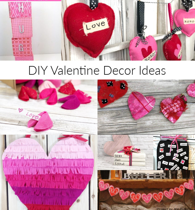 DIY Valentine Decor Ideas