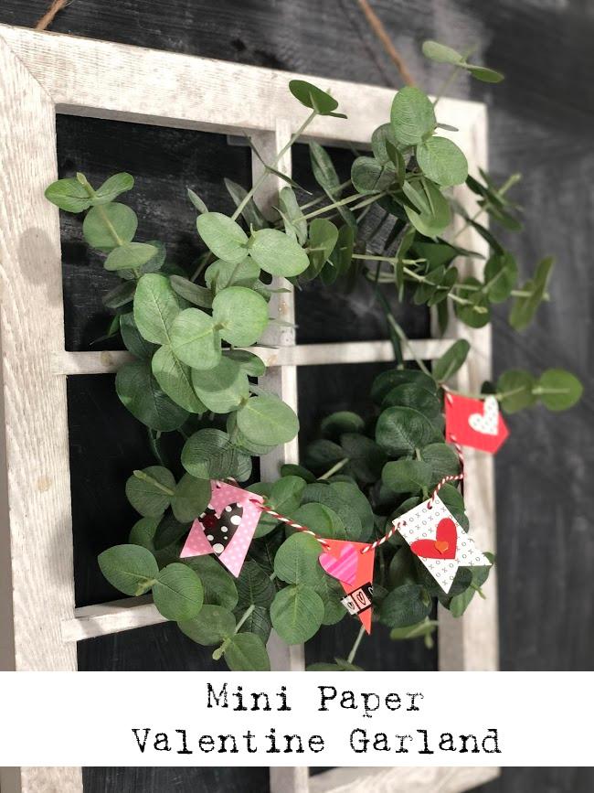 Mini Paper Valentine Garland (1)