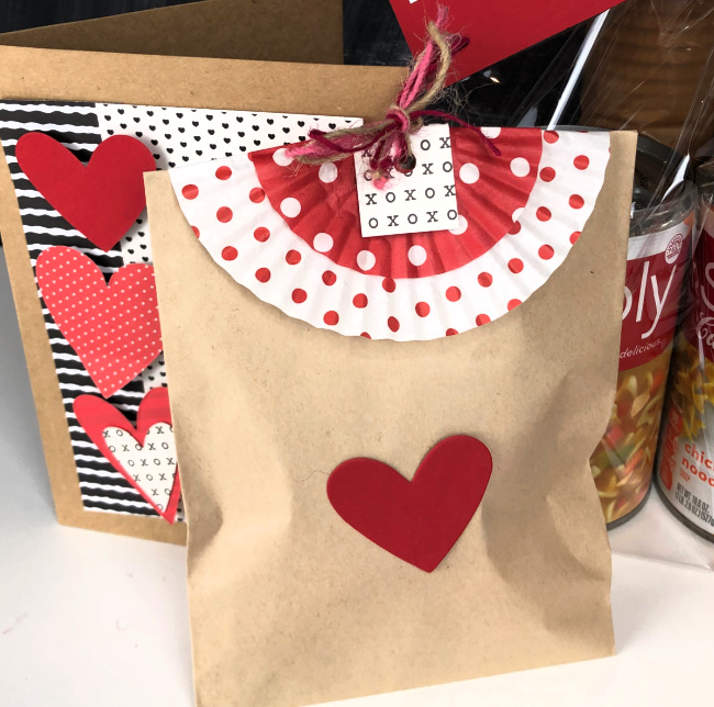 Valentine Bag for Cookies