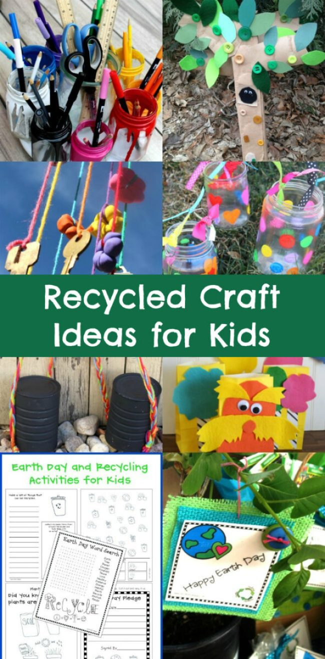 Recycled Craft Ideas for Kids