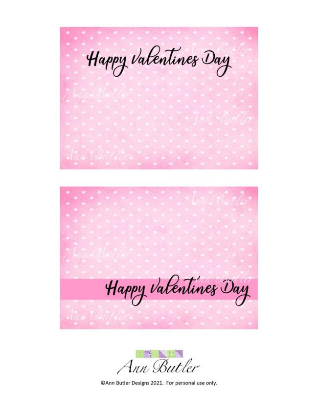 Valentine Printable Cards Free