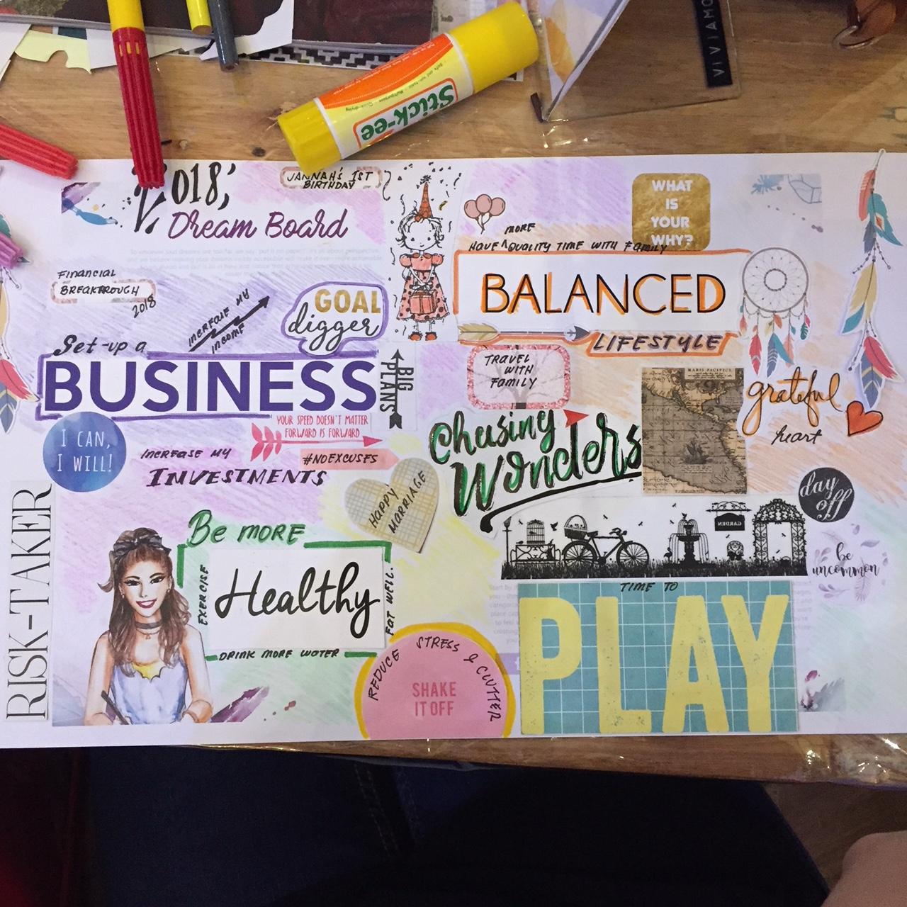 BDJ Launchweekend_Dreamboard