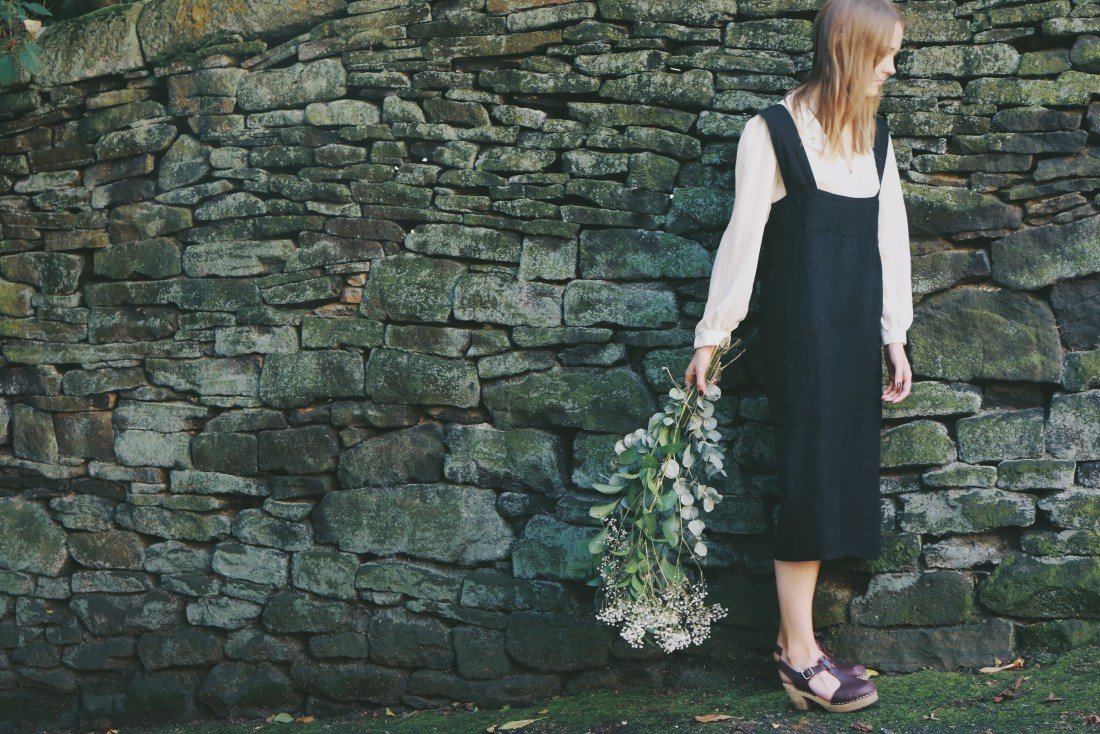 black pinafore object style