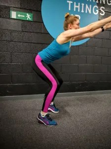 Overhead Squat - tight ankles
