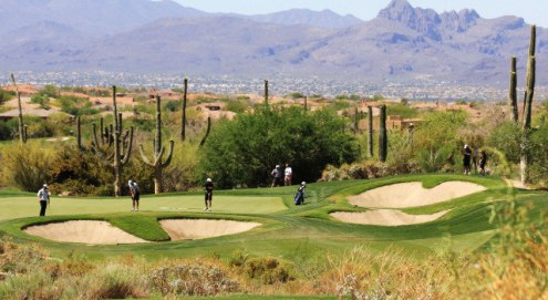 Men s Golf Wraps Up Round Two At NCAA Tucson Regional   University     The North Texas men s golf team sits in ninth place after two rounds at the  NCAA Tucson Regional