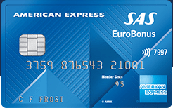 SAS EuroBonus American Express Classic Credit Card Amex