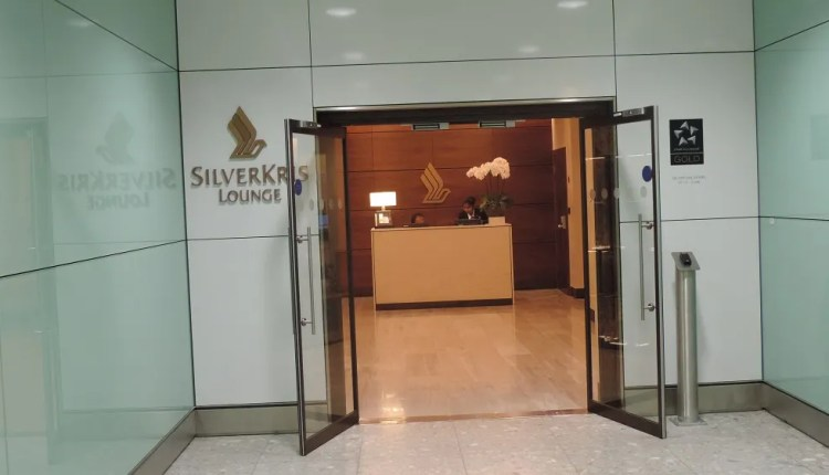 Singapore Airlines First Class Lounge London