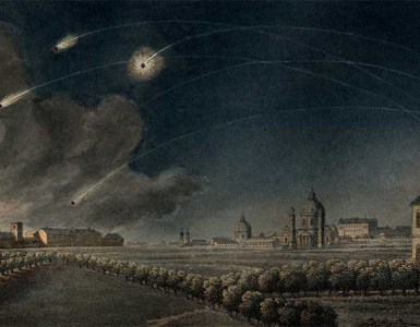 Napoleon bombardment of Vienna
