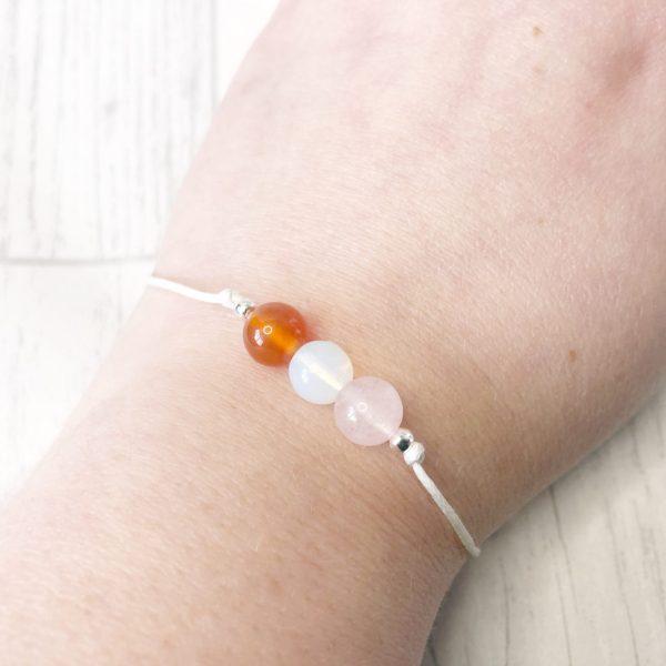 Carnelian Fertility Bracelet IVF Pregnancy Aid