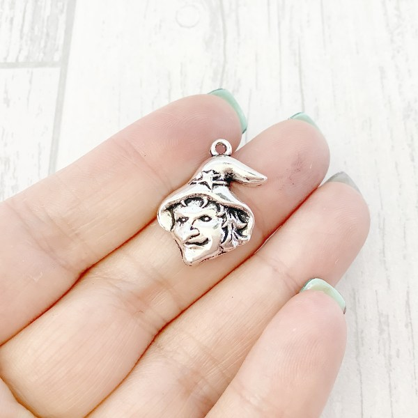 Witch Charms, Jewellery Making, Wholesale Charms, Bulk Charms