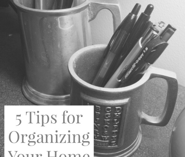 5 Tips for Organizing Your Home Office