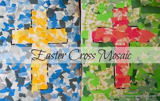 1-#cross #mosaic kids craft-041