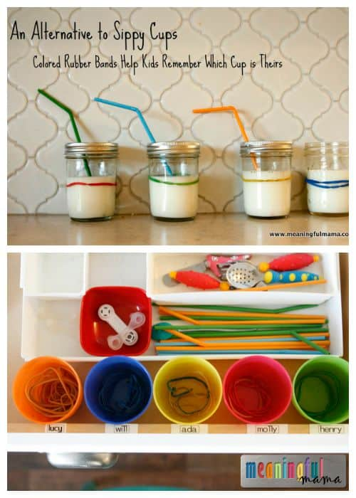 An Alternative To Sippy Cups