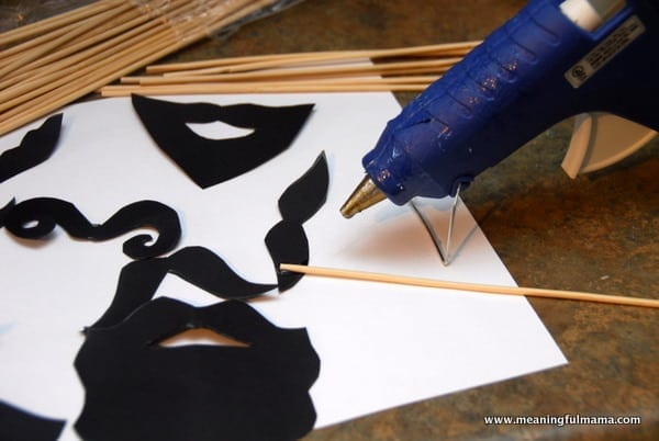 1-#moustache #beard #photo booth #props #printable-006