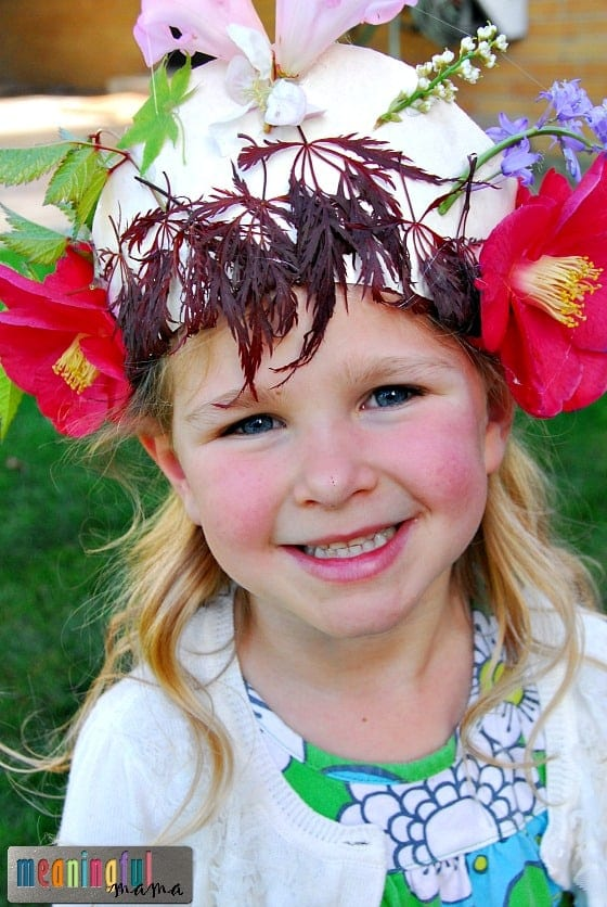 Nature Crowns - Lessons on Courage for Kids