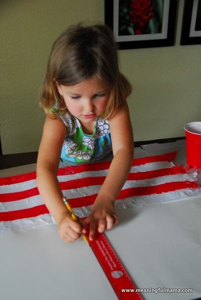 1-#american flag #craft-017