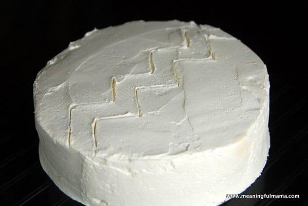 1-#chevron #M&M #cake-013