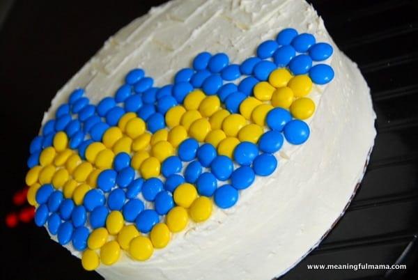1-#chevron #M&M #cake-018