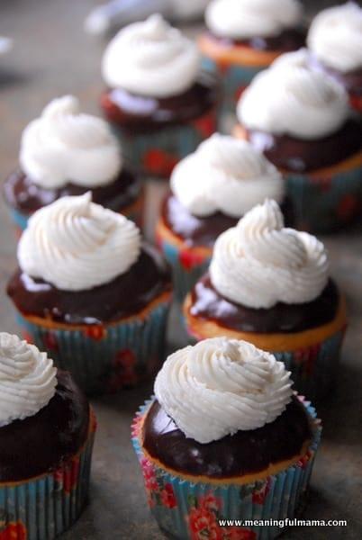 1-#cupcakes #chocolate eclair #cream #recipe-009