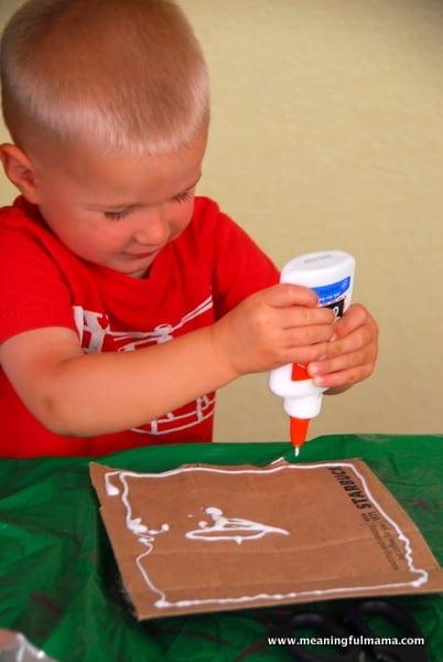1-#robot mask #diy #crafts for kids-016