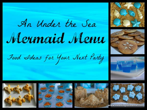 1-#mermaid party 2 #food ideas #menu