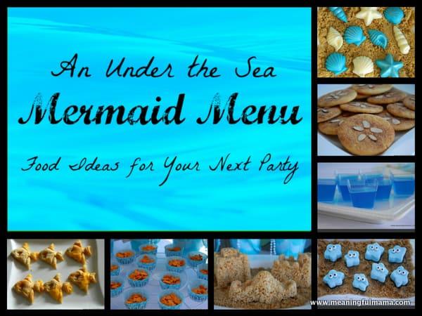 1-#mermaid party 2 #food ideas #menu