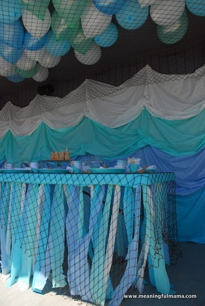 1-#mermaid party #decorating #under the sea-013