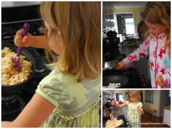 1-#mermaid party #rice krispy treat sand castle #food ideas