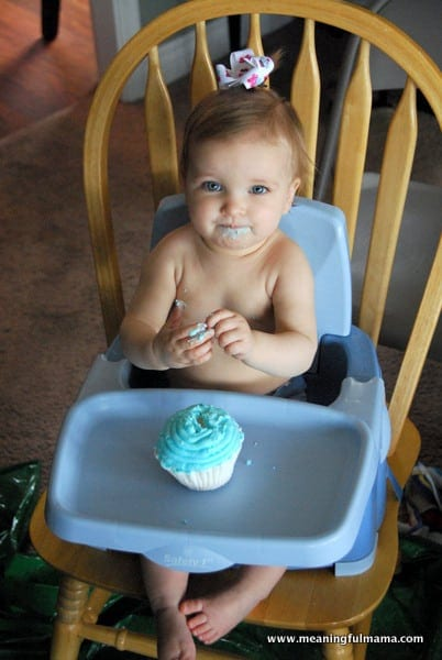 1-#topsy turvy cake #1st birthday #cupcake party-005