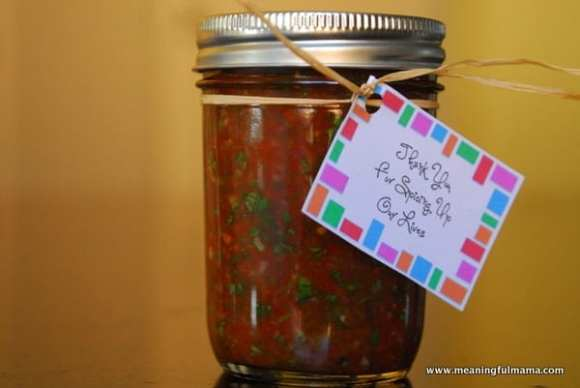 1-#appreciation #teaching kids #salsa recipe #mason jar #gift -016