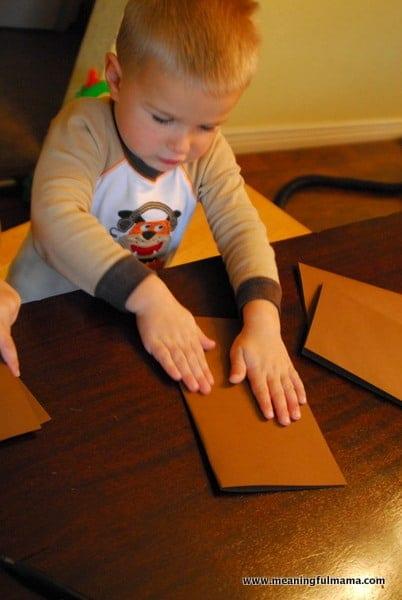 1-#thanksgiving turkey #craft #footprint #craft for kids-007
