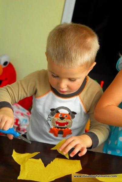 1-#thanksgiving turkey #craft #footprint #craft for kids-011
