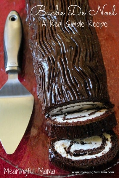 Buche De Noel Yule Log Recipe from Real Simple