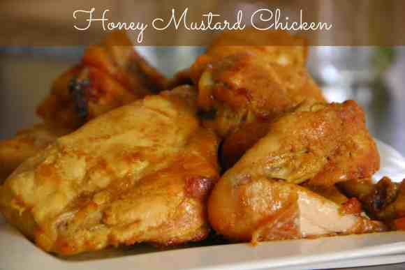 #honey chicken #recipe #curry #mustard -001