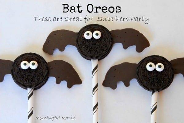 1-#bat oreos #superhero #food #party #Halloween-023