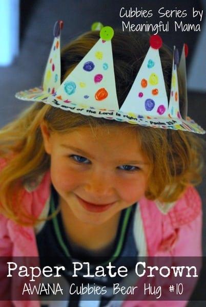 1-#paper plate crown #cubbies bear hug 10 #AWANA crafts-028
