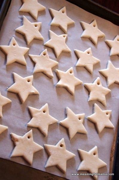 1-#saltdough star craft ornament cubbies bear hug 13-008