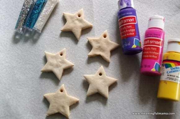 1-#saltdough star craft ornament cubbies bear hug 13-014