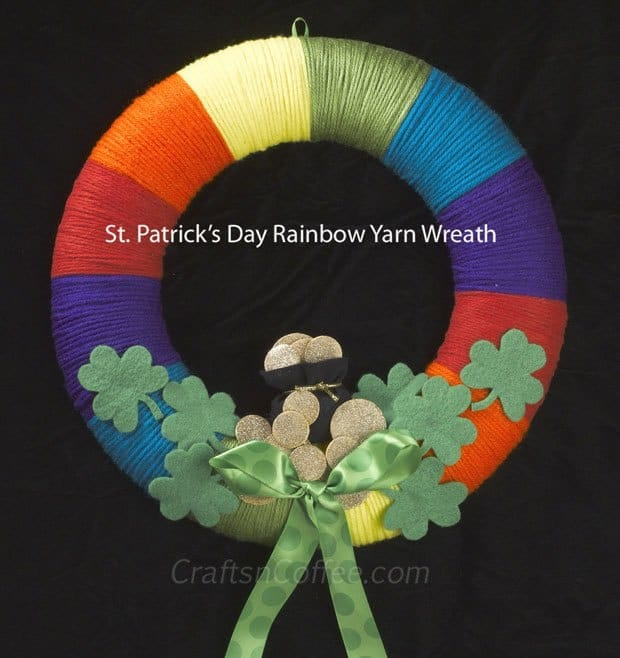 diy-st-patricks-day-wreath