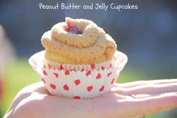 #Peanut Butter #Jelly #Cupcakes #Recipe-058