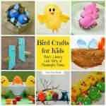 Bird Crafts at Mom's Library