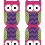 Owl Fruit Snack Printable