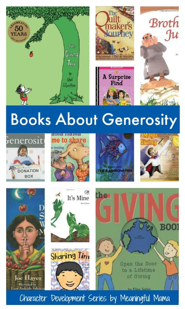 books about generosity giving sharing