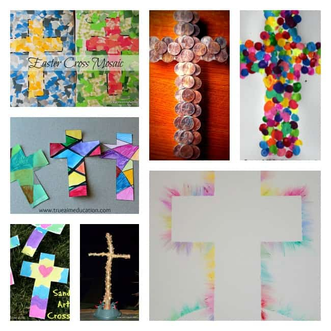 cross crafts for kids Bible