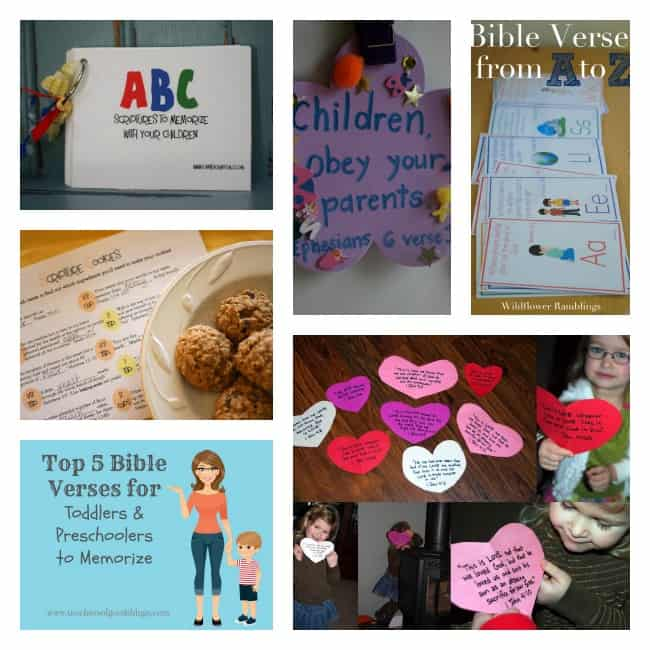 scripture memorization kids bible verses